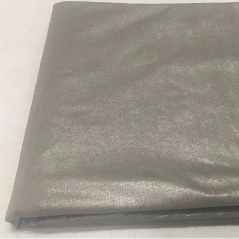 Silver-plated non-woven fabric Silver fiber radiation-proof cloth Silver fiber shielding cloth